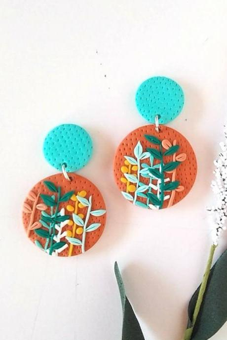 Earrings Irina | Polymer Clay Earrings