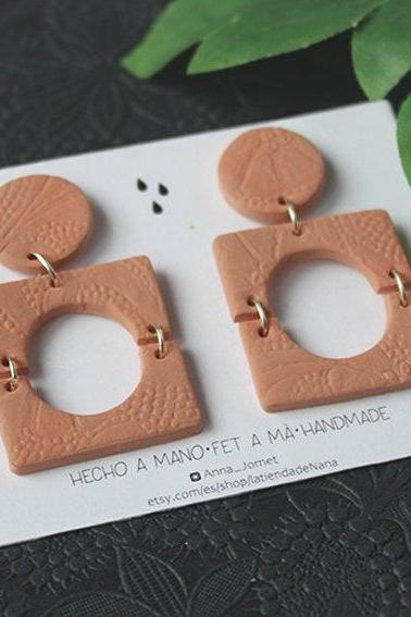 Maite Earrings | Polymer Clay Earrings